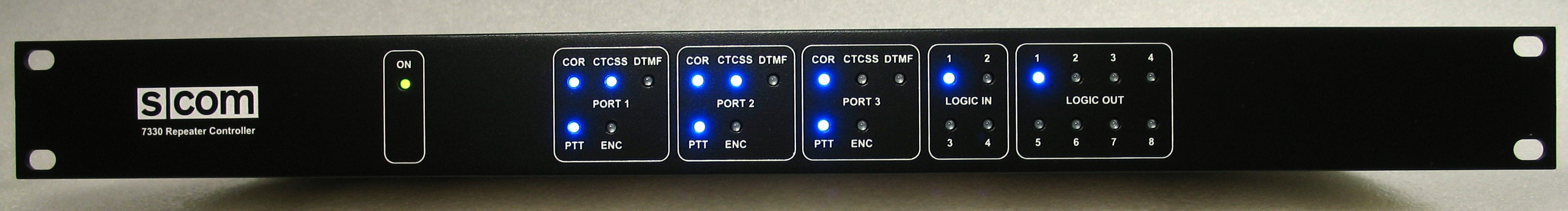 7330 Triple Repeater Controller | S-COM, LLC